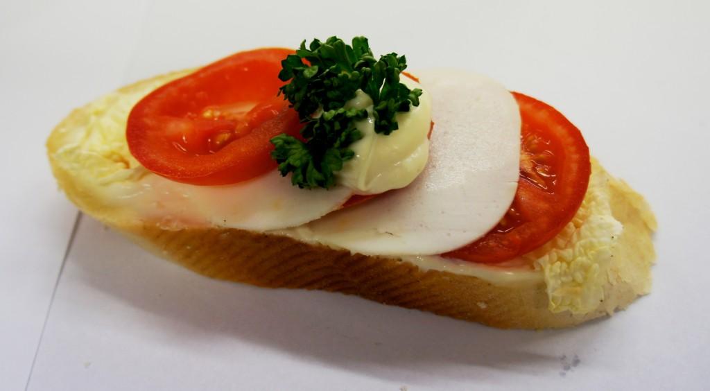 Mozarellový chlebíček